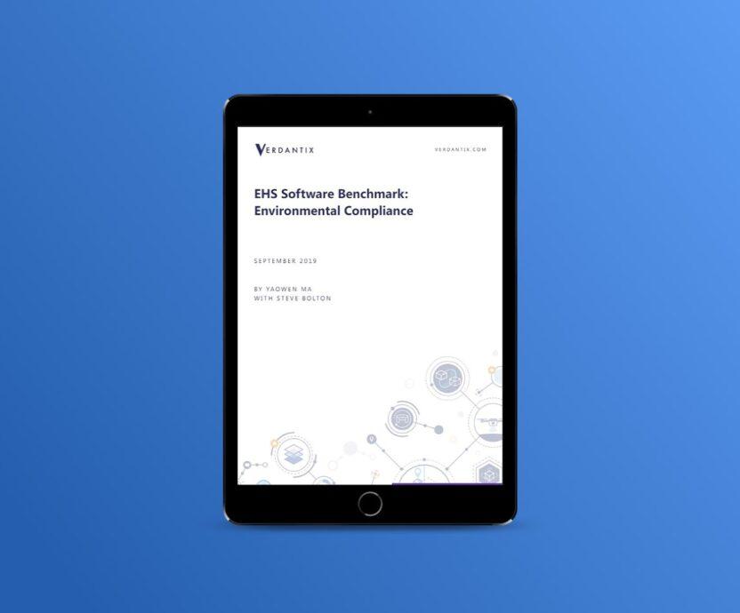 verdantix ehs software 2020