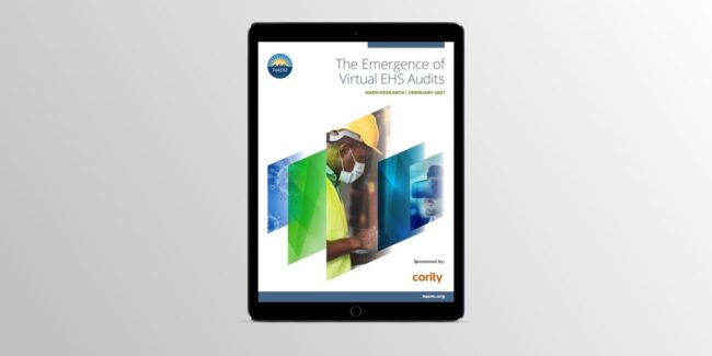 Read the latest research from NAEM about the state of virtual audits in EHS