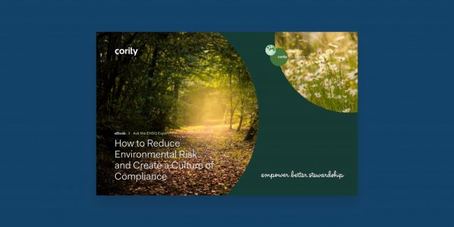 Learn how to reduce environmental risk at your organization