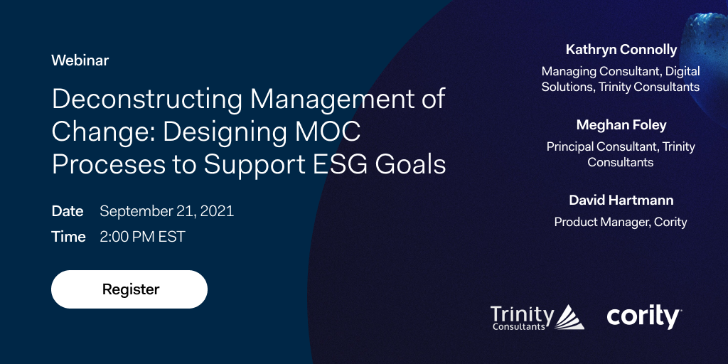 Learn how to design Management of Change processes to support your ESG goals