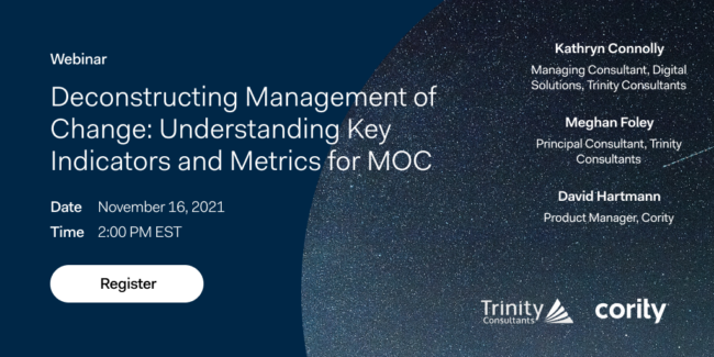 Learn how to track Management of Change metrics