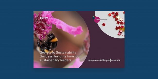Four sustainability leaders sit down with Cority to reveal their secrets to sustainability success