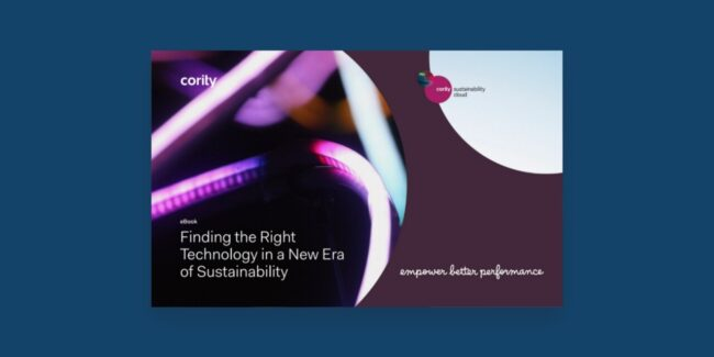 Everything you need to know to find the right sustainability technology for your organization.